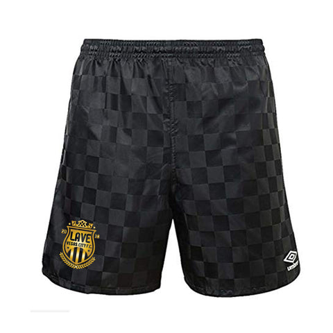 Umbro x LAVE FC Checkerboard Short : Black