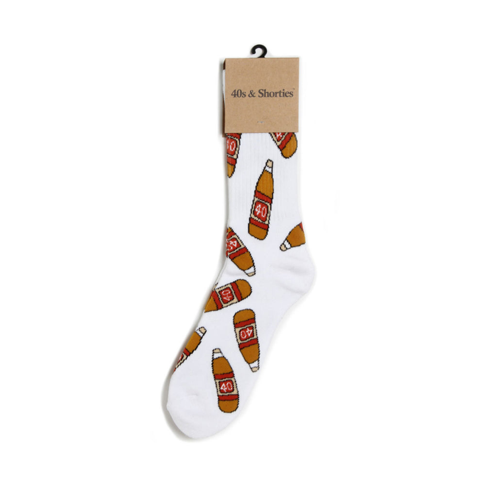 40s Original Sock : White
