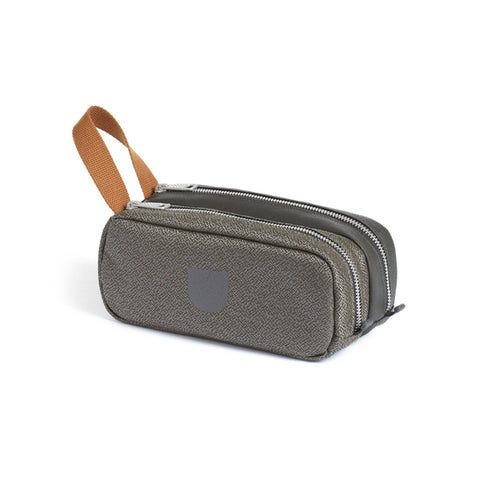Pebble Double Pouch : Grey
