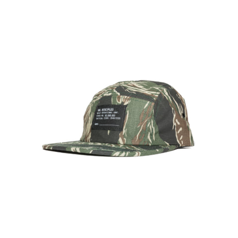 Surplus 5-Panel Cap : Camo