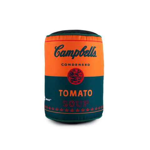 Andy Warhol Campbells Can Plush : Medium