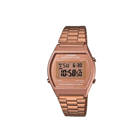 Casio Vintage B640 Watch : Rose Gold