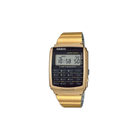 Casio Vintage CA506G Watch : Gold/Black
