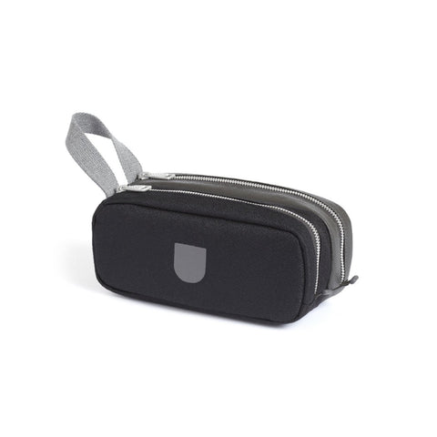 Pebble Double Pouch : Black