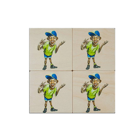 Fresh Prince Coaster Set : Set of 4