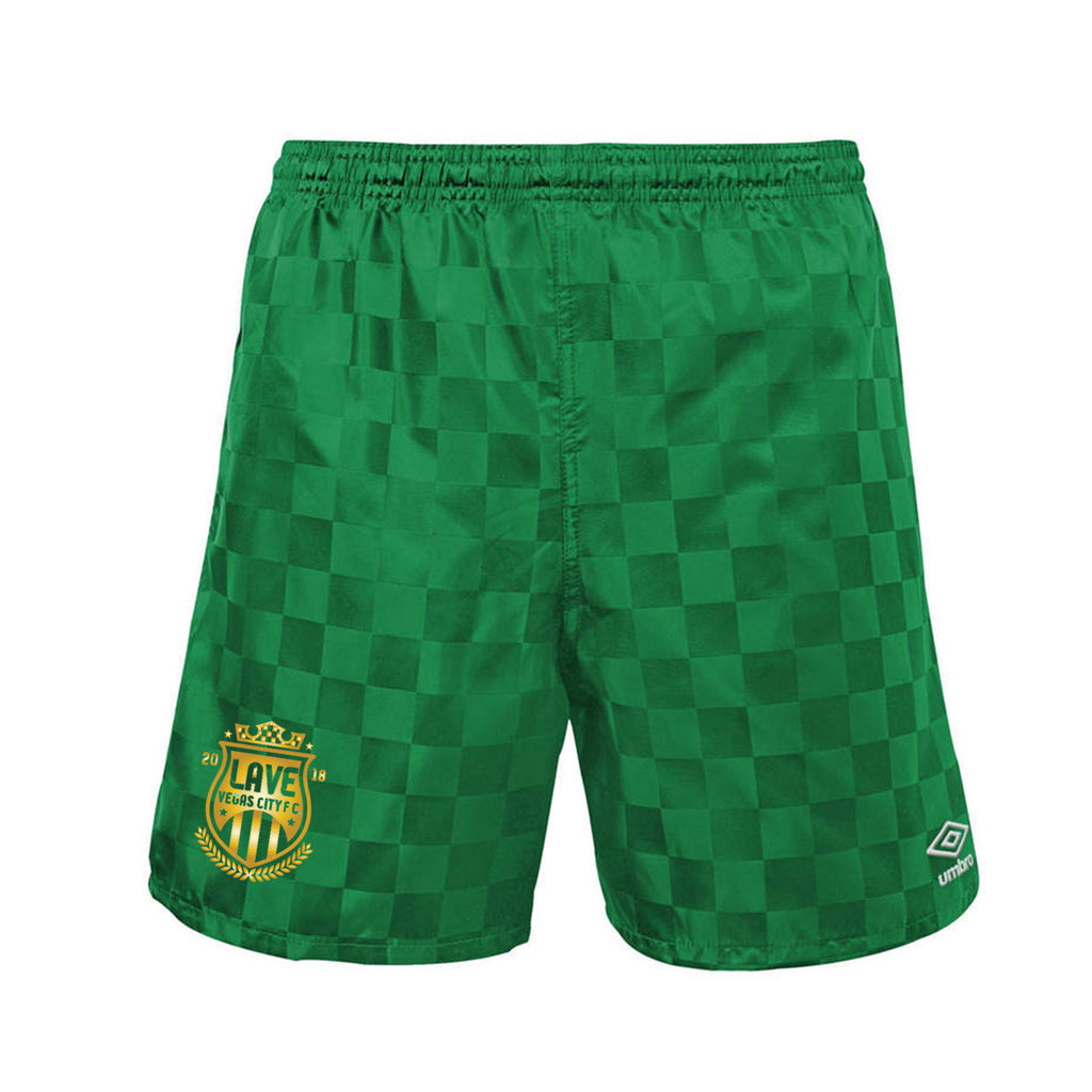 Umbro x LAVE FC Checkerboard Short : Green