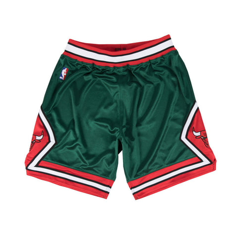 NBA Authentic Shorts : '08-'09 Bulls (Green)