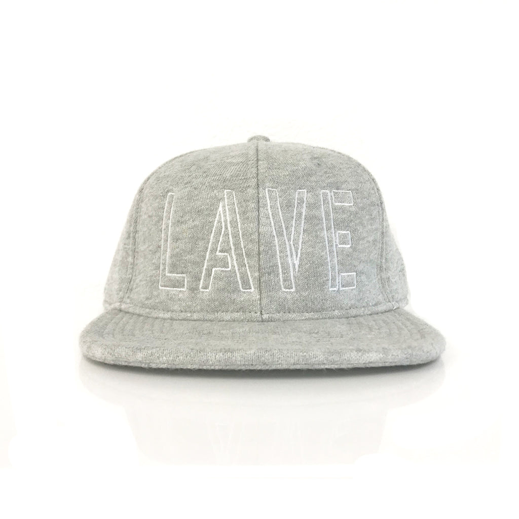 LAVE x Champion Lines Strapback Hat   Grey – The Lave Gallery 5443793016b