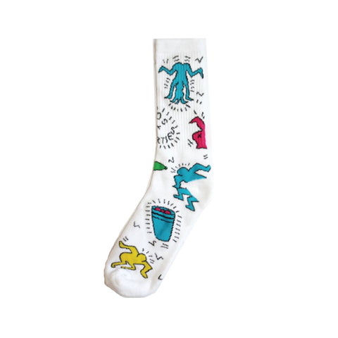 Keith Sock : White