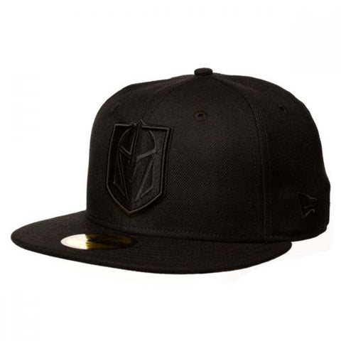 Vegas Golden Knights Snapback : Black/Black
