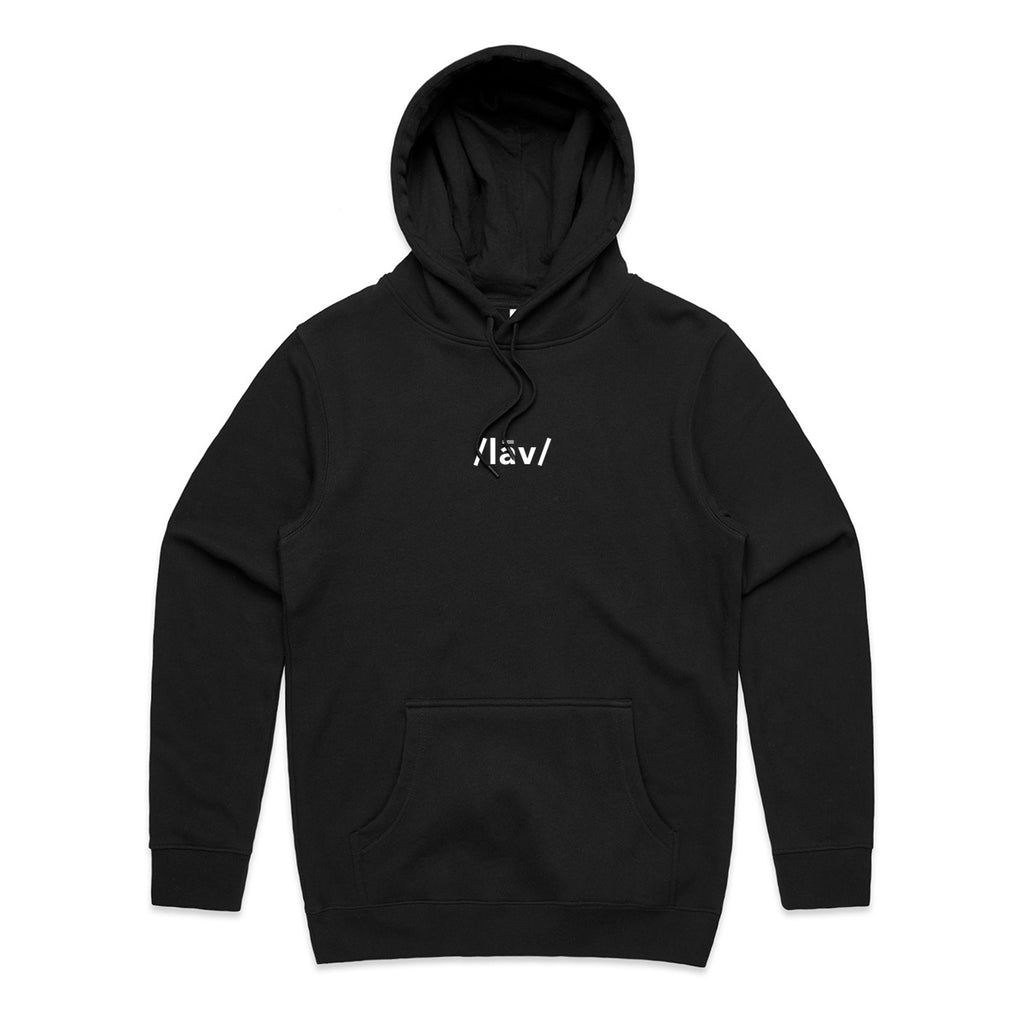 Definition Hoodie : Black/White/Grey