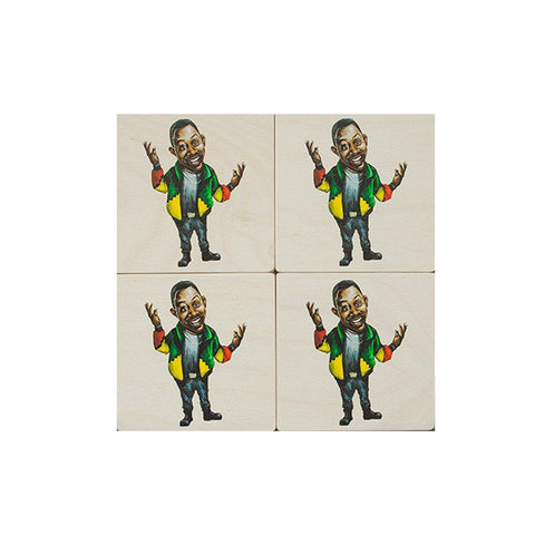 Martin Coaster Set : Set of 4