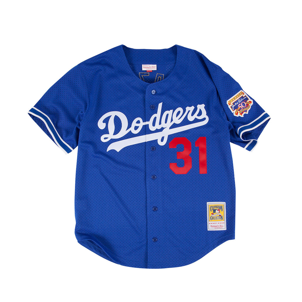 MLB Authentic BP Jersey : Mike Piazza '97 Dodgers