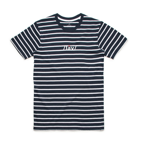 Definition Stripes Tee : Navy