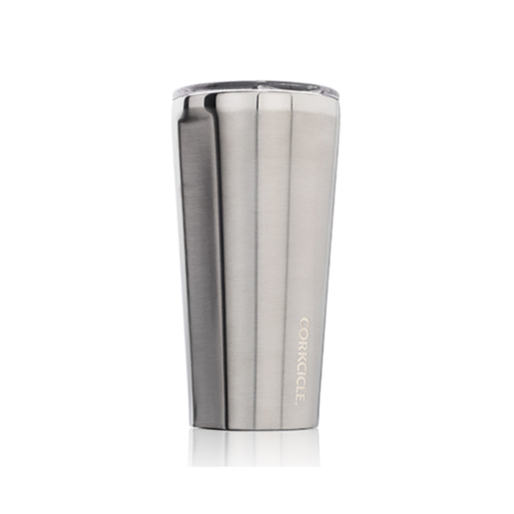 16oz Tumbler : Brushed Steel