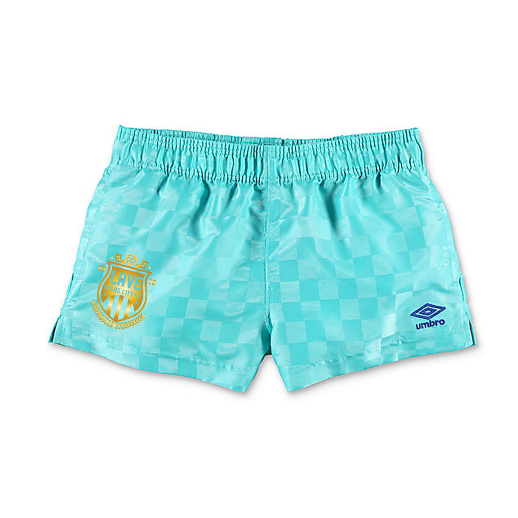 Umbro x LAVE FC WMNS Checker Short : Teal