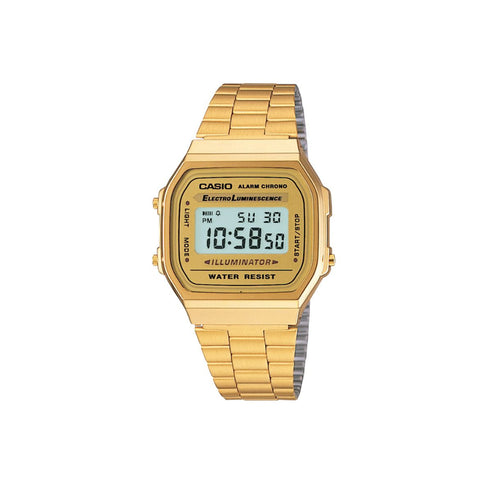 Casio Vintage A168 Watch : Gold