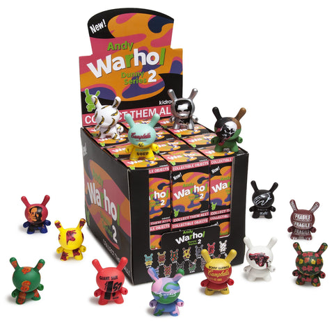 "Andy Warhol 3"" Dunny Blind Box Mini Series 2.0"