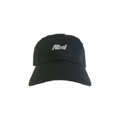 Lines Dad Hat : Black