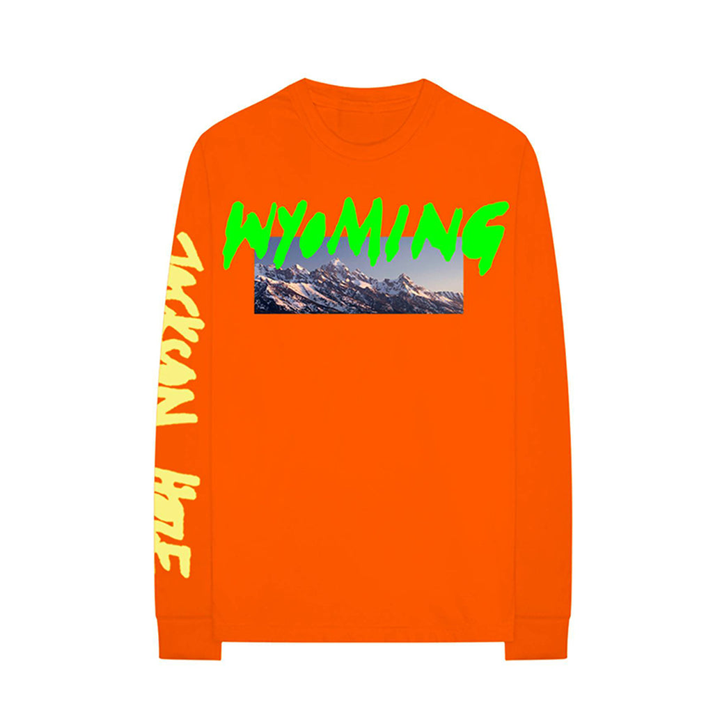 Kanye West Ye L/S Tee : Orange