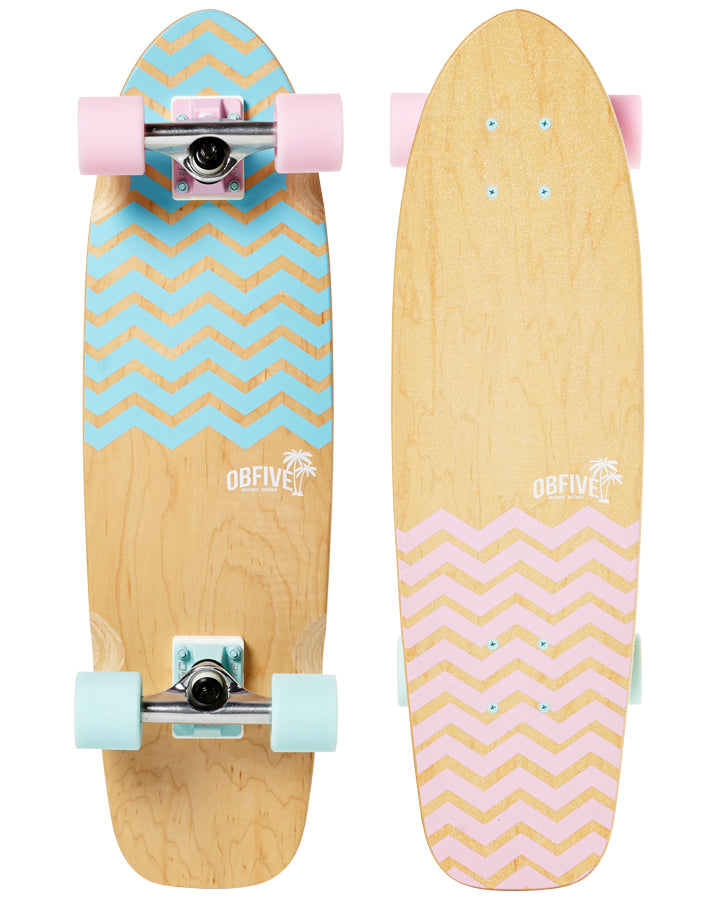 Chevron Cruiser Skateboard