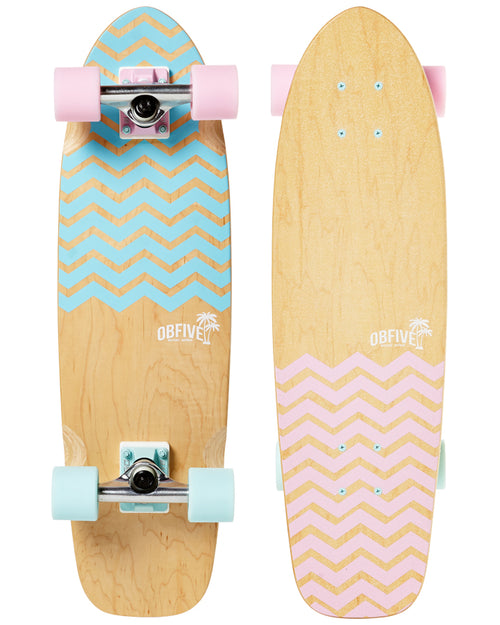 OBfive Chevron Cruiser Skateboard