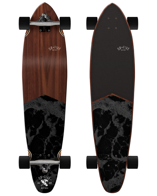 OBfive Dark Waters longboard