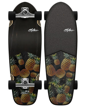 "Smoked Pineapple 28"" Grom Surf Skate RKP1"