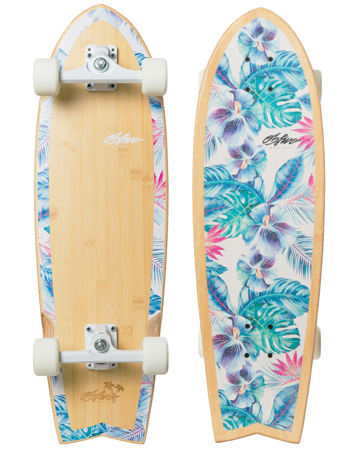"Summer Vacay RKP Surf Skate 31"" (Silver Truck only)"