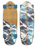 White Wash Surf Skate RKP1 31""