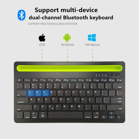 KEYBOARD Bluetooth Wireless for PC or Android or Apple  or TVs