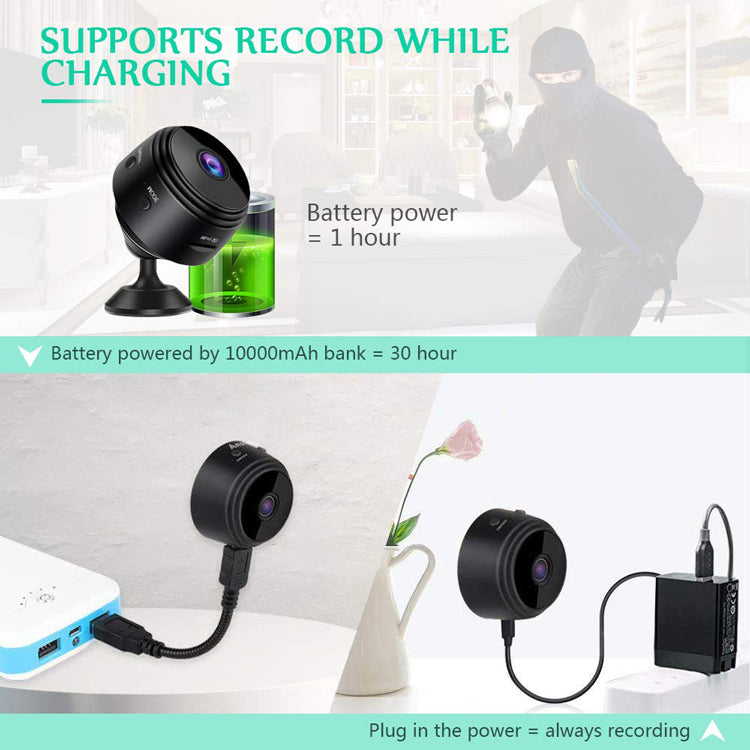 Magnetic Live Stream Wifi HD 1080P Mini Camera