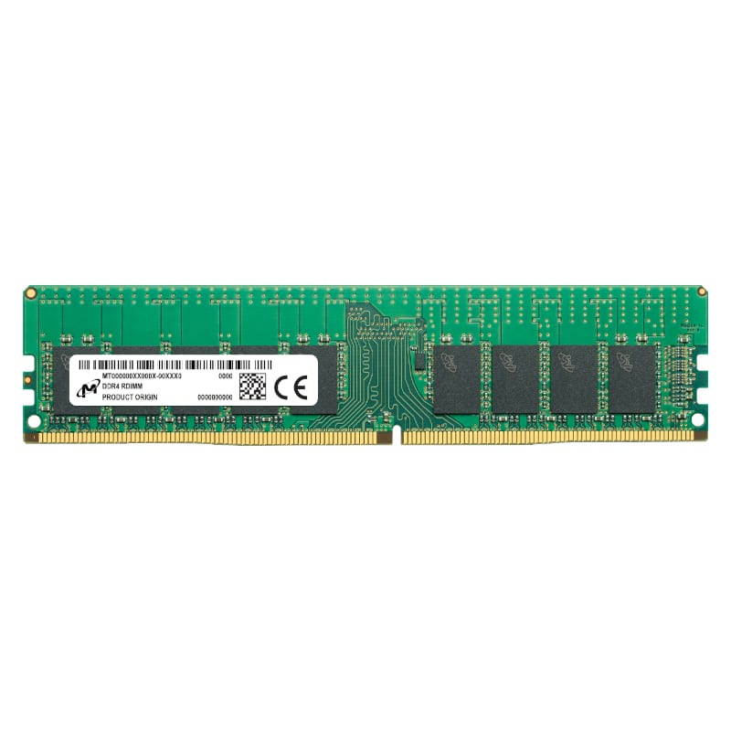 Micron 32GB DDR4 2933MHz Single Rank Registered Dimm