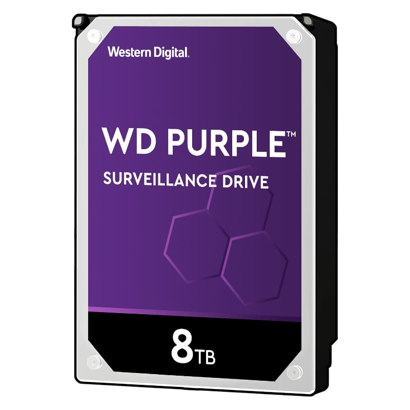 WD Purple 8TB 3.5 SATA 256MB