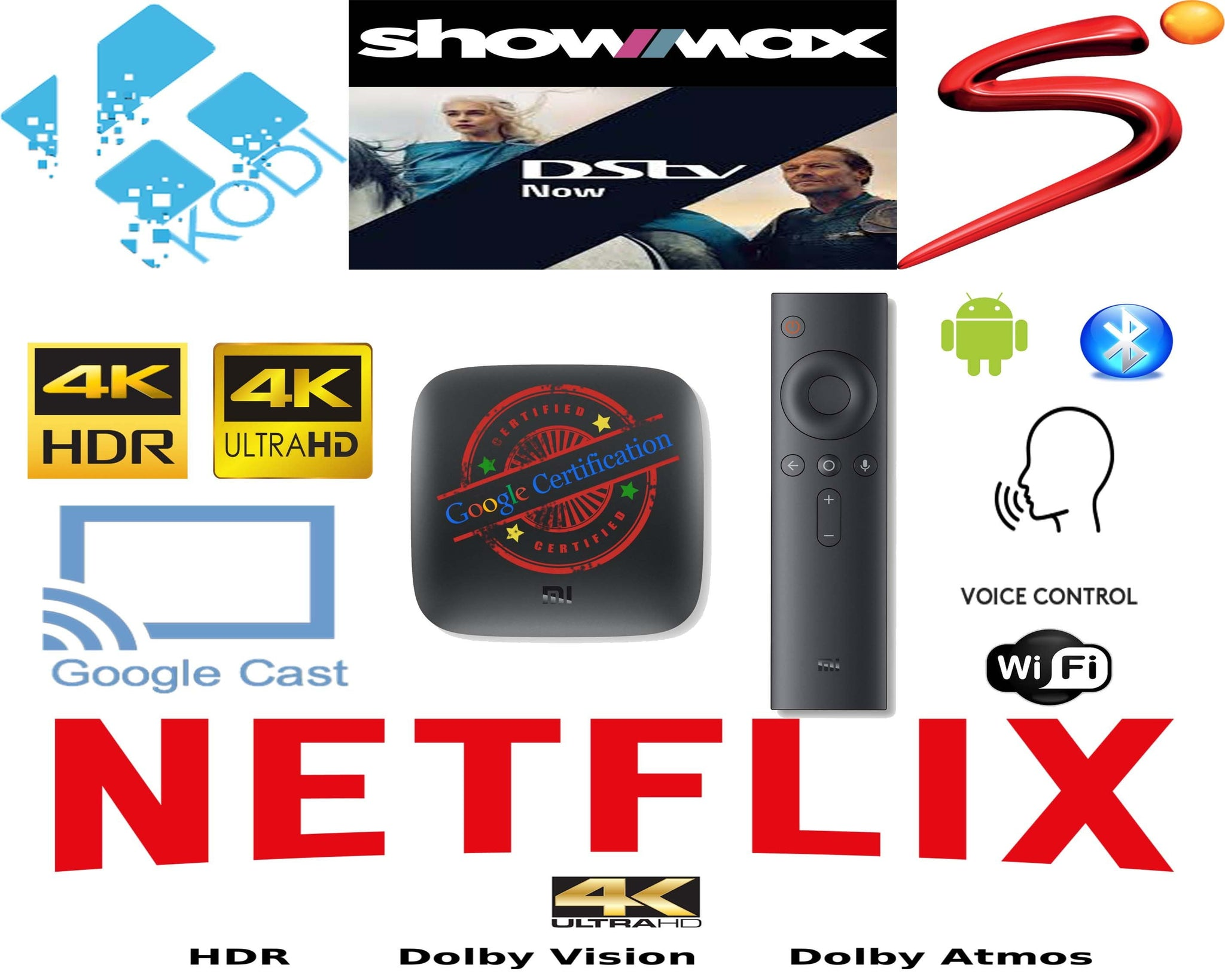 Xiaomi Android TV Box to watch DSTV now , NetFlix, ShowMax, YouTube