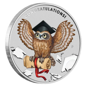 Graduation 2018 1oz Silver Coin