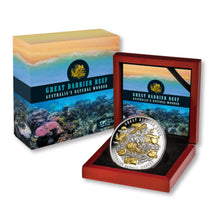 2018 $10 Great Barrier Reef 5oz Silver Proof