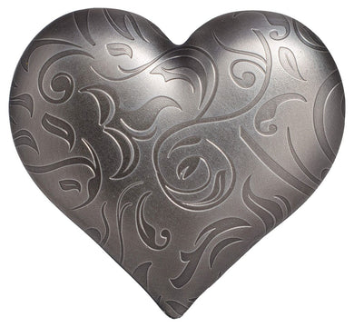 2018 $5 Silver Heart 1oz Silver Antique