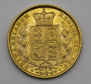1885 Sydney Shield - aUNC