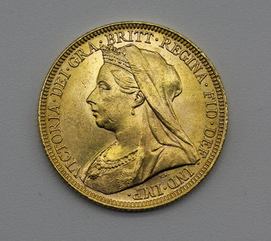 1895 Melbourne Veiled Head - UNC