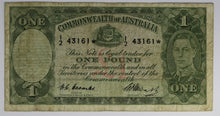 1949 One Pound Star Note - Coombs/Watt