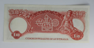 1960 10 Pound Consecutive Pair - Coombs/Wilson