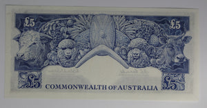 1960 RBA Archive Pre-Decimal Four Note Set - Coombs/Wilson
