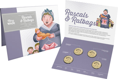 Four Coin Mintmark and Privy Mark Set $1 - Rascals and Ratbags