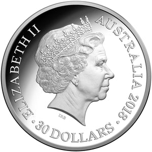2018 Year of the Dog - $30 Silver Kilo Coin