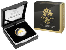 2018 $5 Selectively Gold Plated - Gold Coast Commonwealth Games