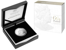 2019 $1 Fine Silver Proof Coin - Double Header - Clark and Rank-Broadley Effigies