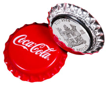 2018 $1 Coca-Cola Bottle Cap Silver Prooflike Coin