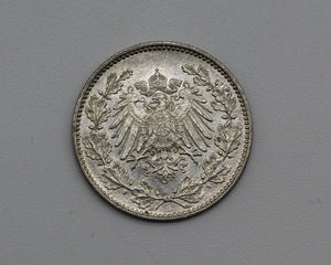 1900 Germany Fifty Pfennig - UNC
