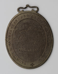 1845 Penrith and Hawkesbury Agricultural Association Ploughing Medal